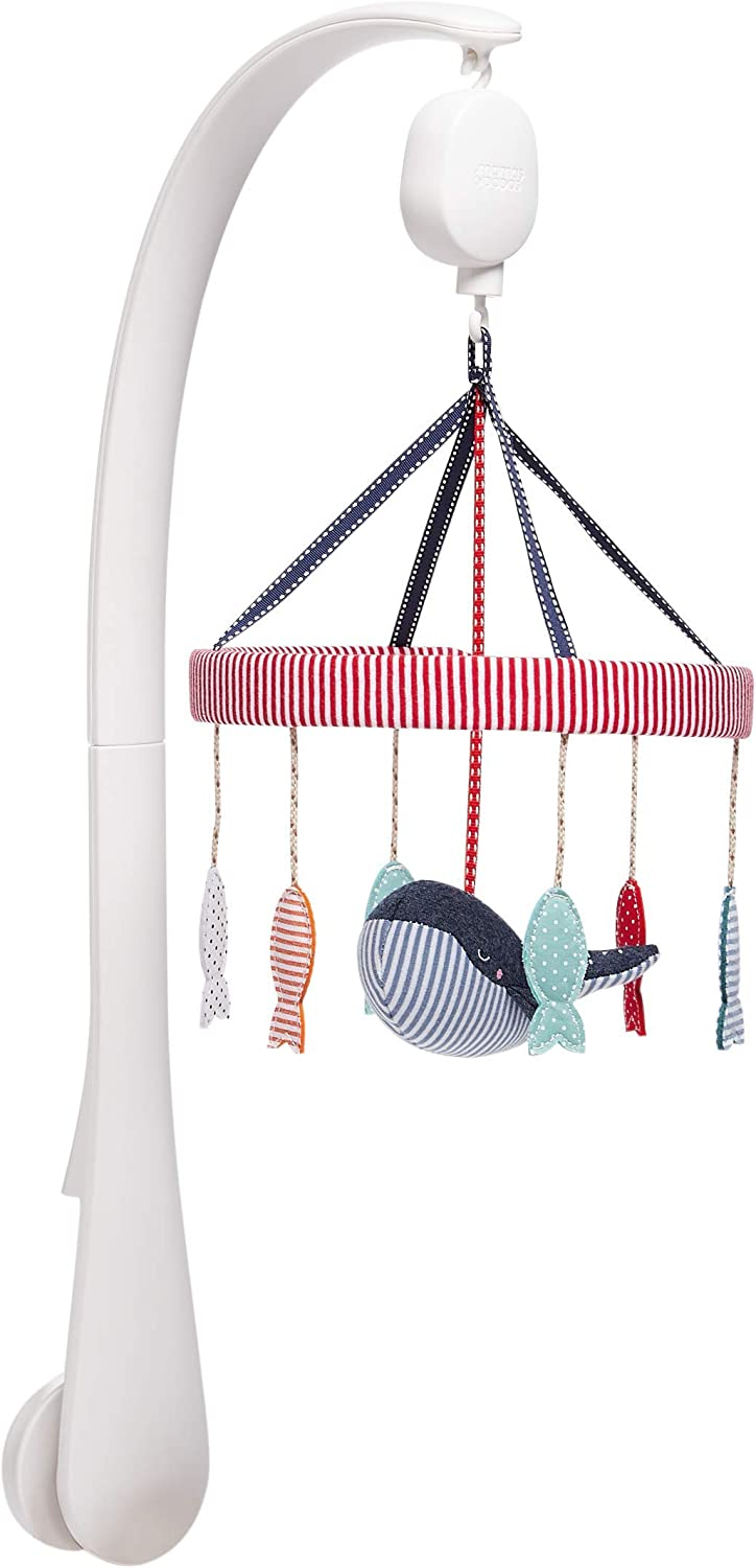 Mamas & Papas Musical Cot Mobile, Nursery Accessorie, Sail Away with Me