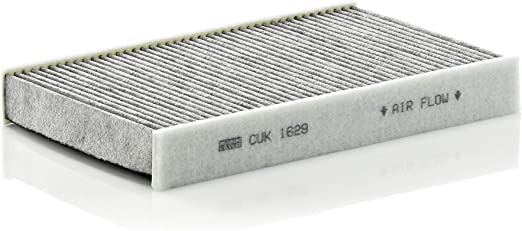 Original Mann Filter Innenraumfilter Cuk 1629 Pollenfilter Mit Aktivkohle Für Pkw Auto
