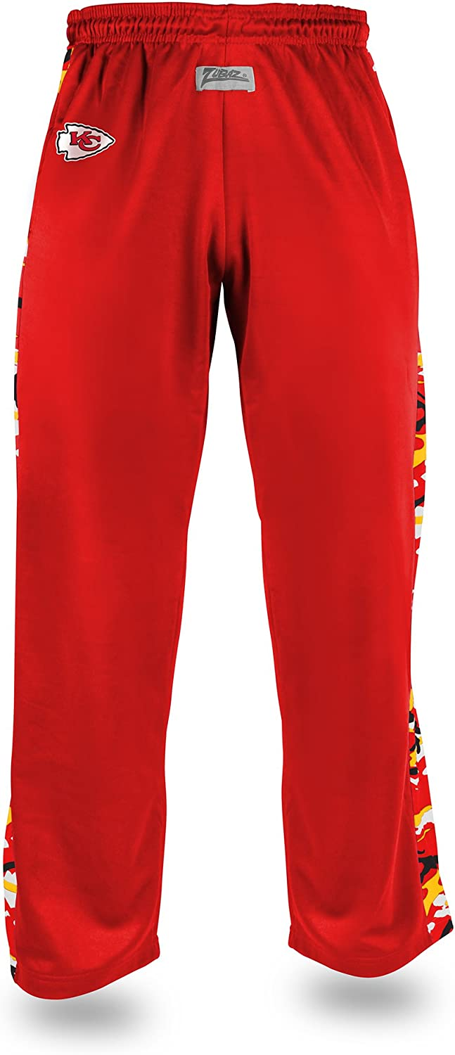 NFL Zubaz Mens Casual Active Pants