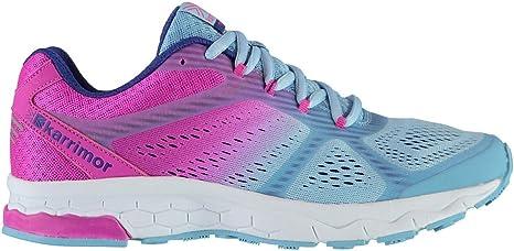 Official Shoes Karrimor Tempo 5 Zapatillas de Running para Mujer, Color Azul y Rosa, Azul/Rosa, (UK4.5) (EU37.5) (US5.5): Amazon.es: Deportes y aire libre