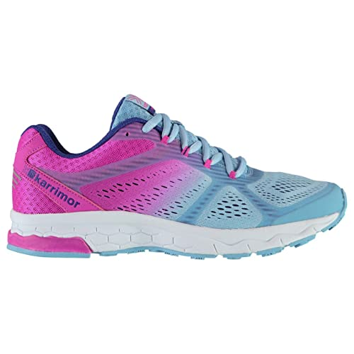 sports shoes 0bd69 32dbf Karrimor Womens Tempo 5 Road Running Shoes Lace Up Breathable Padded Tongue  Mesh