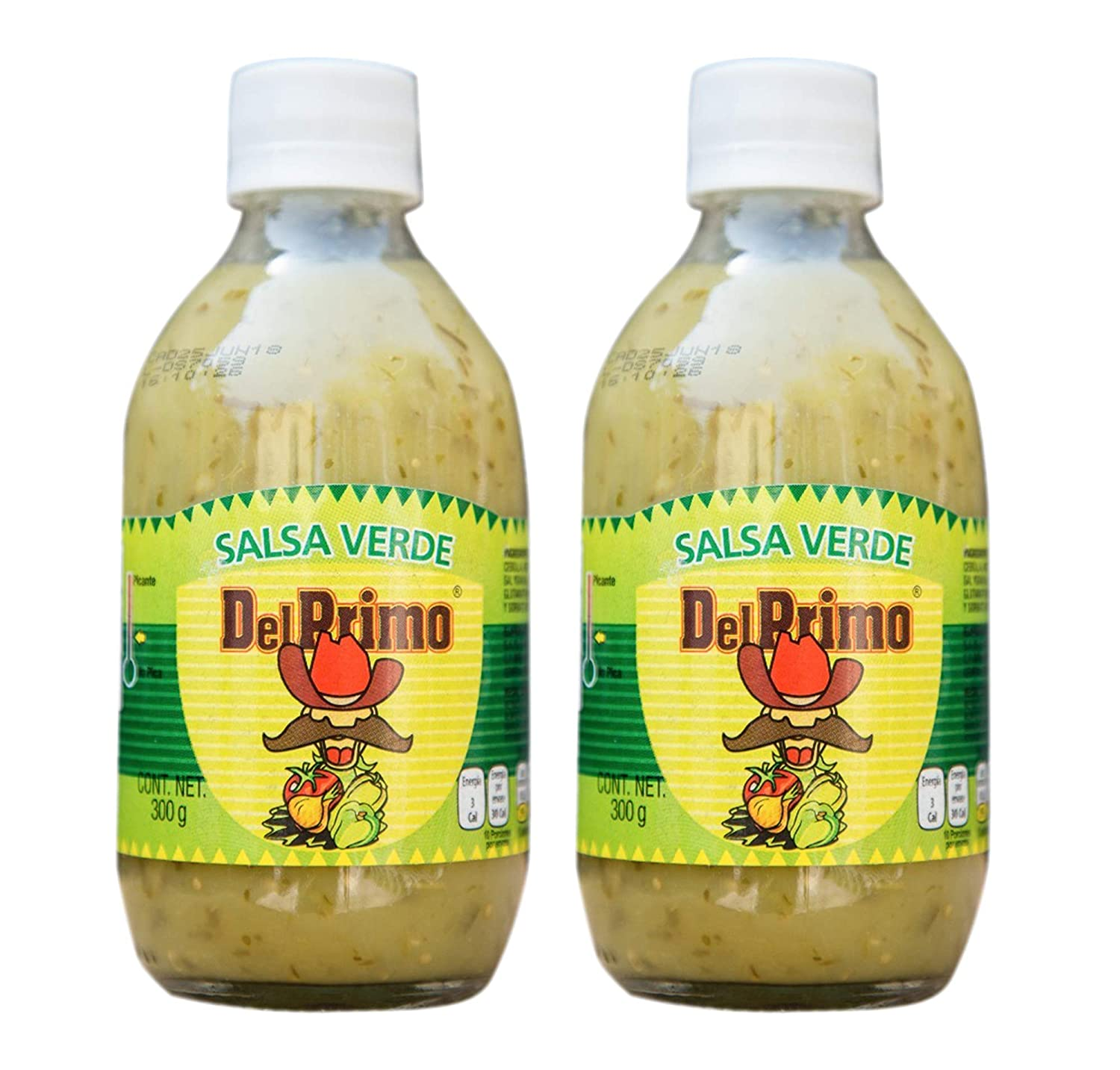 Amazon.com : Del Primo TLAQUERA SAUCE Home Style Mexican Salsa Sauce 10.5oz Bottle (2 Pack) : Grocery & Gourmet Food