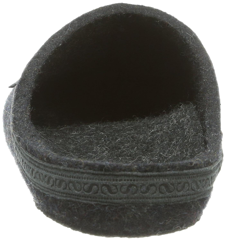 Stegmann 127 127 127 Unisex-Erwachsene Pantoffeln Grau (Graphit 8801) 21e987