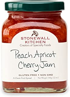product image for Stonewall Kitchen Peach Apricot Cherry Jam, 12 Ounces
