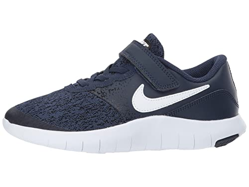sports shoes e72f2 8dafa Nike Scarpe Bambino Flex Contact (PSV) 917934 (30-401 Midnight  Navy-White-Black) Amazon.it Scarpe e borse