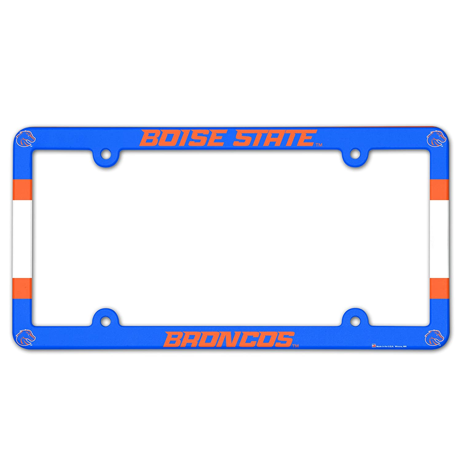 Wincraft NCAA Boise State LIC Full Color Plate Frame 90095013