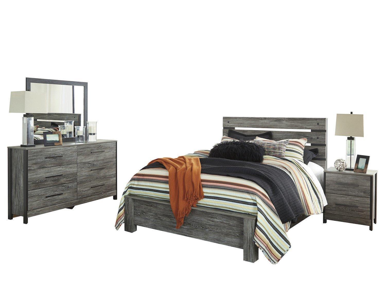 9300 Ashley Bedroom Set Gray HD