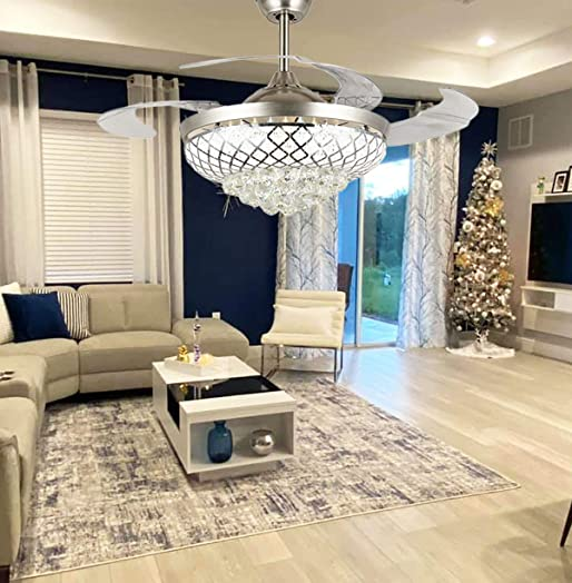 Modern Living Room Ceiling Fan