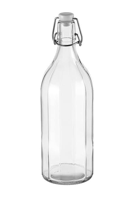 Tescoma 895194 bottigli Cuadrados con tapón mecánico 1000 ML