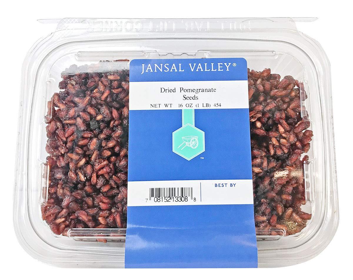 Jansal Valley Dried Pomegranate Seeds, 1 Pound by Jansal Valley (Image #1)