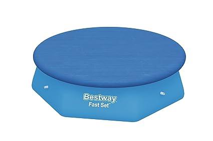Bestway 8320409 8320409-Cobertor Piscina, 244cm, Azul, 20x20x6 cm