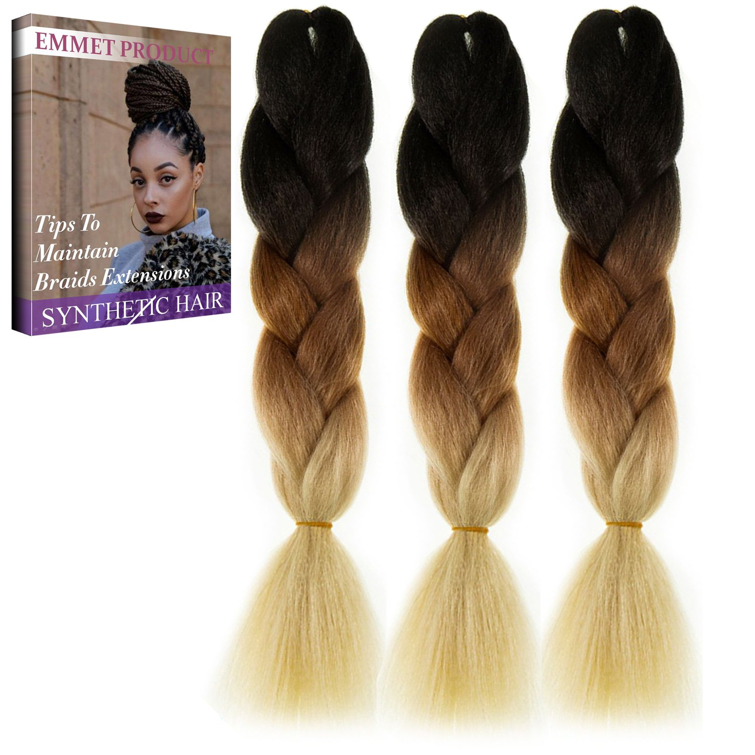 Amazon Emmet Jumbo Braids Premium Quality 100 Kanekalon
