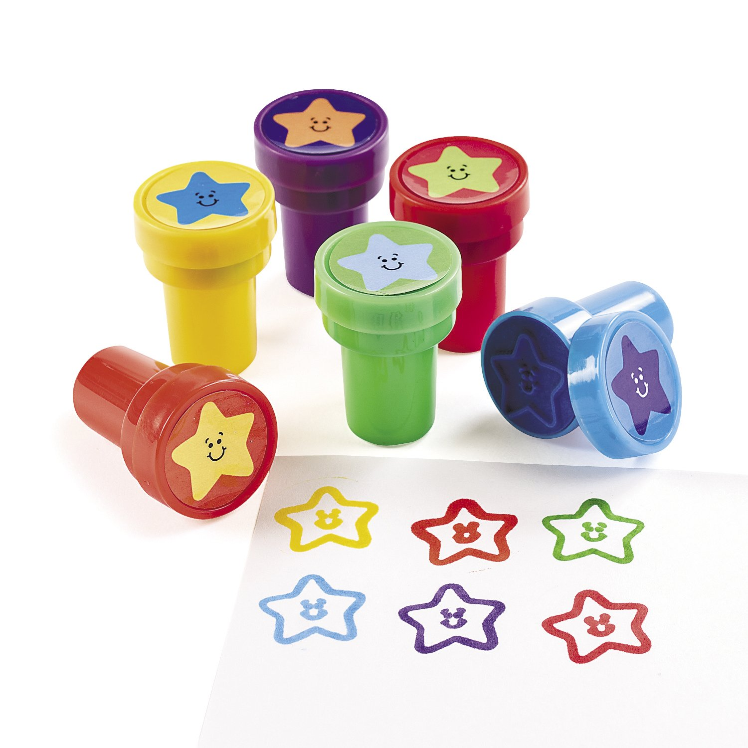 Fun Express Bulk Star Stampers (2 Dozen)