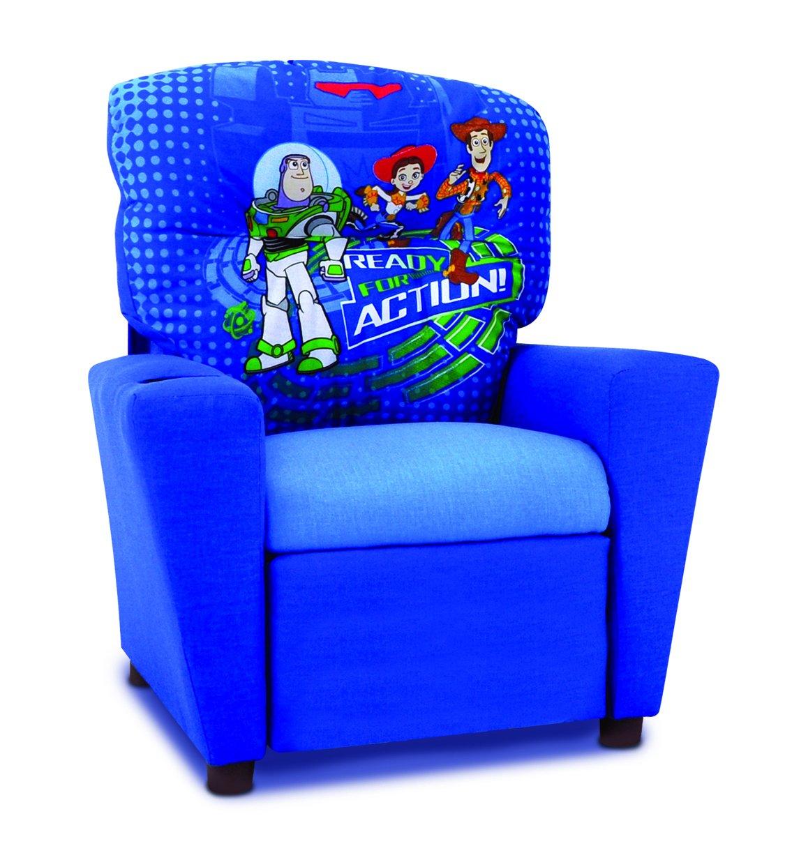Kidz World Toy Story 3 Kids Recliner in Blue 446459