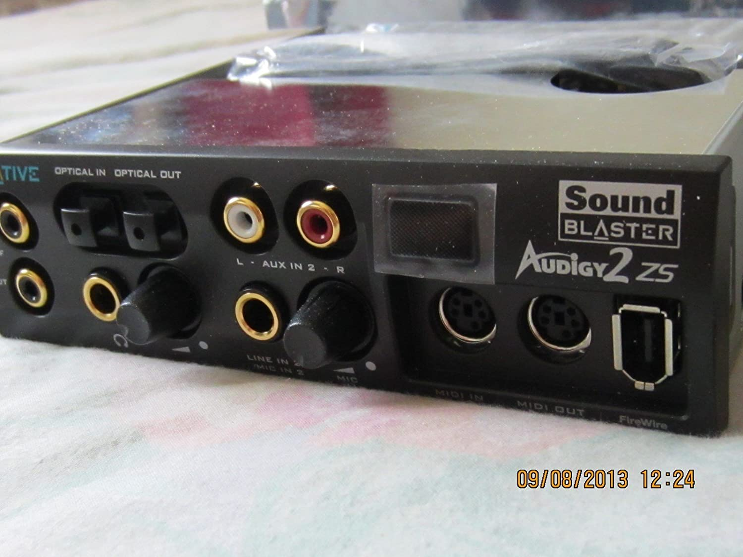 Amazon.com: Creative Labs SoundBlaster Audigy 2 ZS sb0250 ...