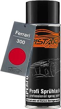 Tristarcolor Autolack Spraydose Für Ferrari 300 Rosso Corsa Basislack Sprühdose 400ml Amazon De Auto