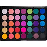 Morphe Pro 35 Color Eyeshadow Makeup Palette - GLAM (High Pigmented) 35B by Morphe Brushes