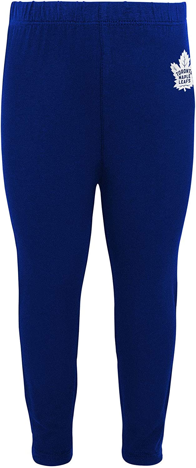 Toronto Maple Leafs Infant Girls Show Off Long Sleeve Top and Leggings Set
