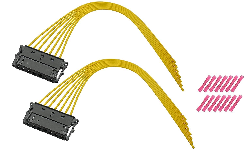 Cable Solution 2X Kabelsatz R/ückleuchte Heckleuchte Mercedes C-Klasse W203 W204 E-Klasse W211