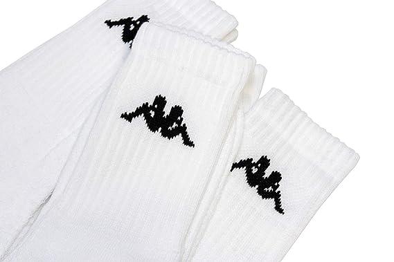 3 unidades calcetines Kappa Tenis (Talla 39 - 42 - Calcetines: Amazon.es: Ropa y accesorios
