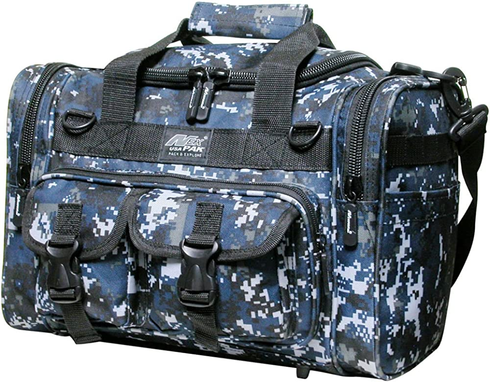 "Nexpak 15"" Tactical Duffle Millitary Molle Gear Range Bag with Shoulder Strap Available"