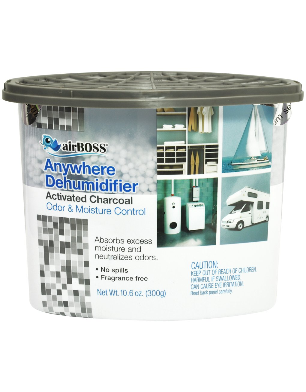 airBOSS Anywhere Dehumidifier with Activated Charcoal
