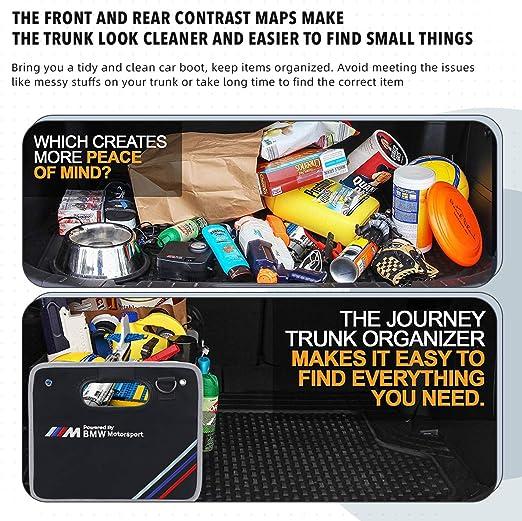 BMW Motorsport M Boot Trunk Organizer Collapsible Folding Storage Tool Bag Box