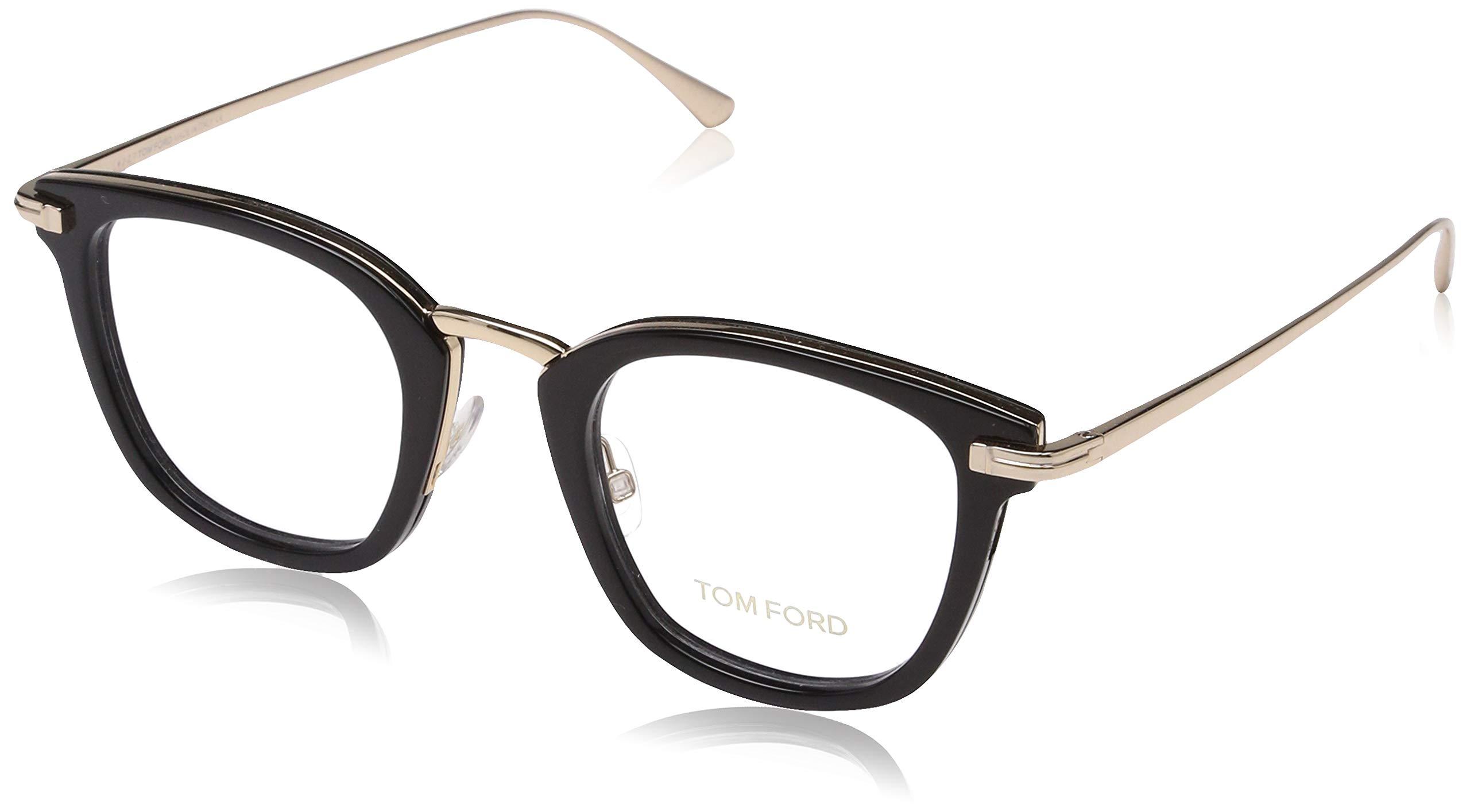 Eyeglasses Tom Ford FT 5496 001 shiny black by Tom Ford