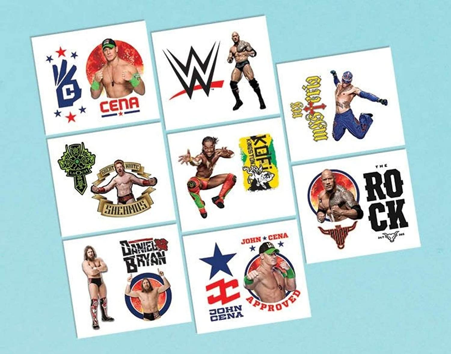 WWE Birthday Party Favours and Loot Ideas WWE Tattoos Tattoos Boys Fun