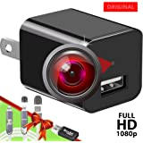 Spy Camera Charger - Hidden Camera - Easy to Use Secret Camera 1080P - USB Charger Camera - Hidden Spy Camera - Camara Espia - Nanny Camera - Mini Spy Camera - Hidden Cam - Premium Security Camera