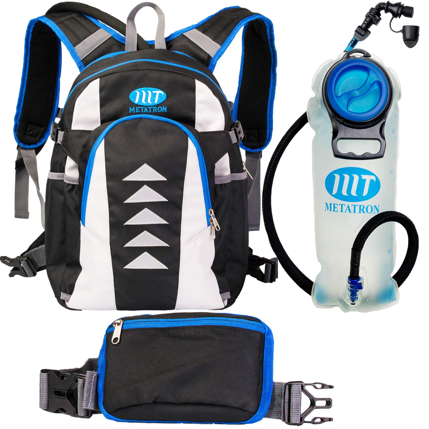 7a0c5a8133c8 Hydration Backpack with 2 Liters / 0.5 Gallons Leakproof Water ...