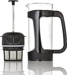 Espro Coffee Press P3-18 oz, Glass and Black Plastic