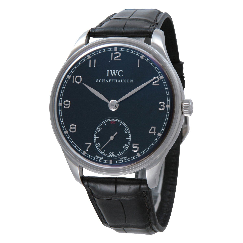 [アイダブリューシー]IWC 腕時計 ポルトギーゼ ハンドワインド ブラック 黒クロコ 手巻き IW545407 メンズ 【並行輸入品】 B006CDBX0K