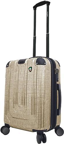 Mia Toro Italy Macchiolina Polish Hardside Spinner Carry-on