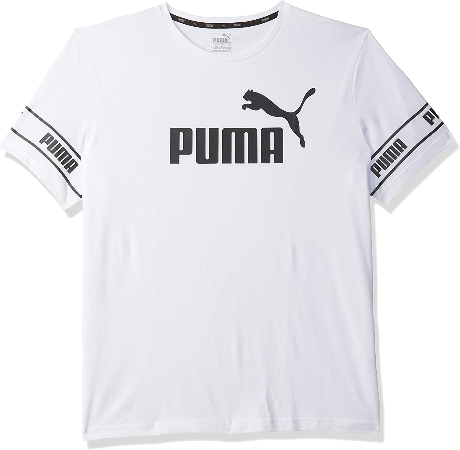 PUMA Amplified Big Logo tee Camiseta, Hombre: Amazon.es: Deportes ...