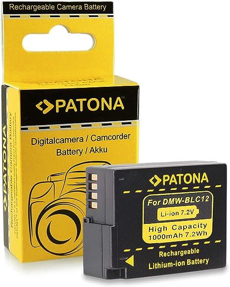 Batería DMW-BLC12 E para Panasonic Lumix DMC-FZ200 | DMC-GH2 - Leica V-Lux 4