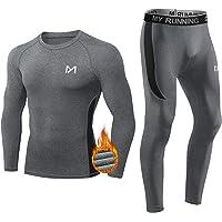 MEETYOO Thermo-ondergoed voor heren, lang functioneel ondergoed, ademend ondergoed, sport, compressiepak voor workout…