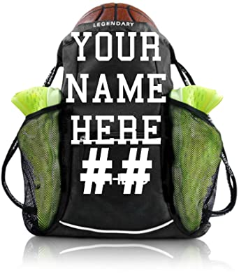 368f0db0081df Custom Personalized Logo ATHLIO Drawstring Gym Bag Backpack  For Team Sports  & Workout Gear