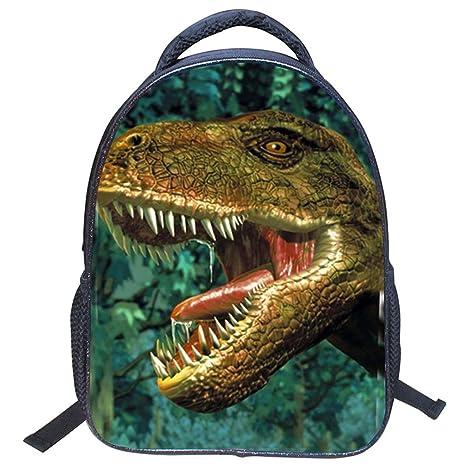 Mochila Infantil Niños, 3D Dinosaurio Mochilas Escolares Juveniles,Impermeable Mochila Guardería Infantil, Viaje