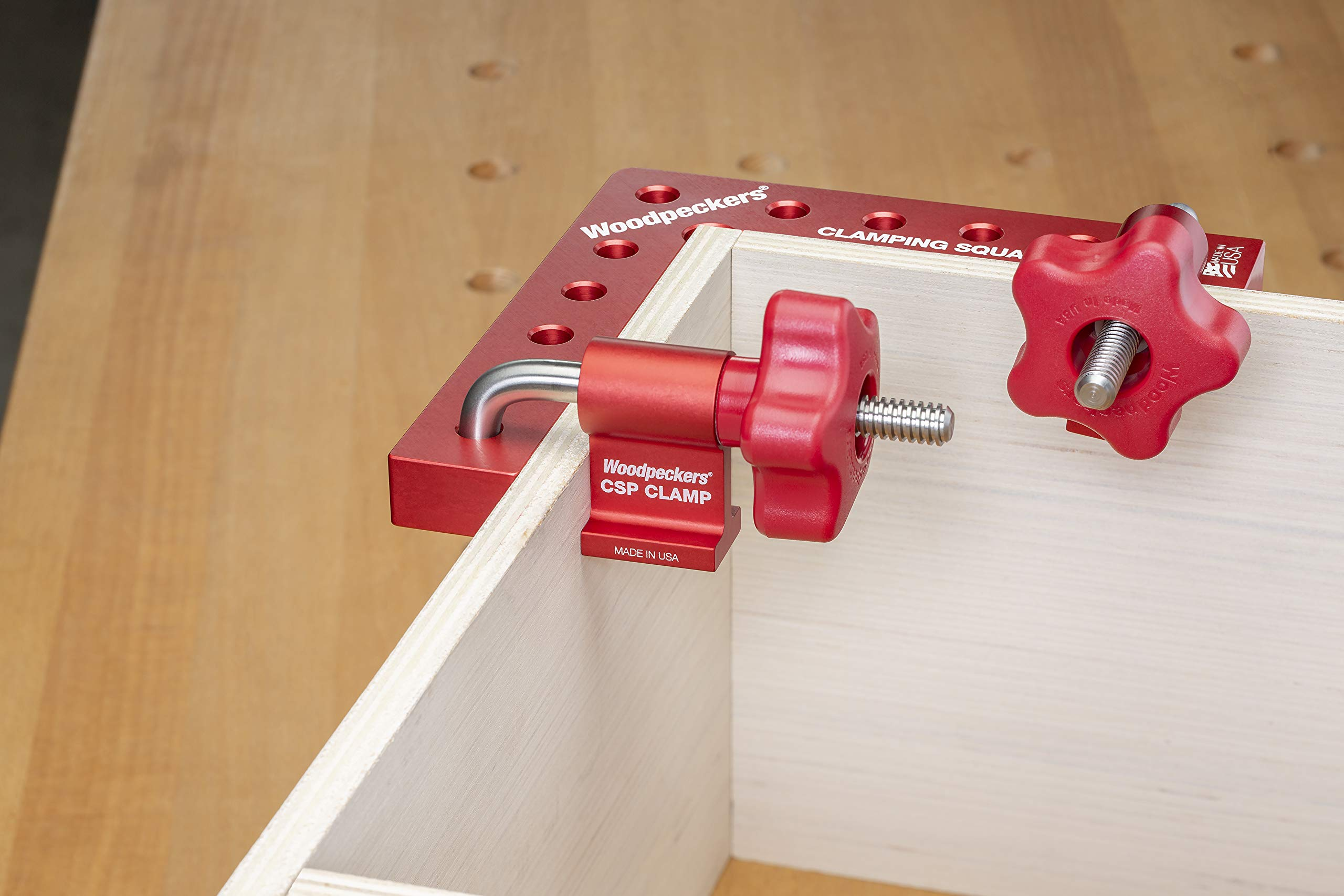 Clamping Square PLUS Clamp - 4 pairs of clamps + 4 Individual Clamping Square Plus by Woodpeckers (Image #2)