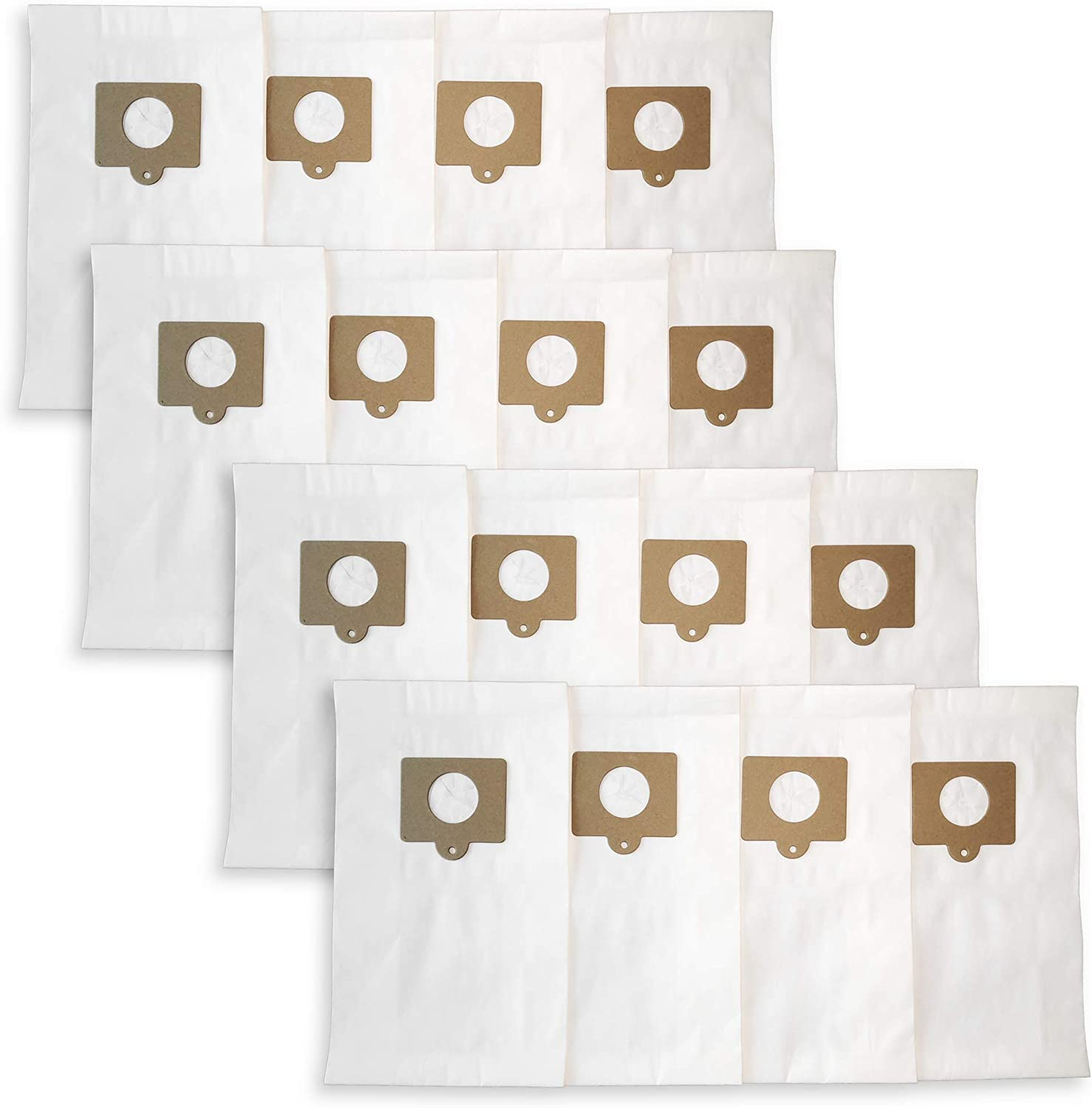 Reinlichkeit 16-Pack Generic Vacuum Bags fit Kenmore Style C/Q, Compatible with Models 5055,54321,50104,Also Panasonic C-5 C-18