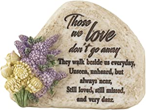 Dicksons Those We Love Garden Rock 3 Inch Resin Garden Rock