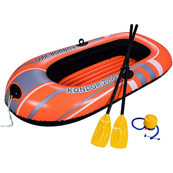 Amazon.com: h2ogo. Hydroforce – Barca inflable w/remos 61