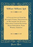 A Collection of Over Six Hundred Names, Descendants of Balthaser and Susanna Phillipina Loesch Palatines From Gernsheim, Near Worms, Germany (Classic Reprint)