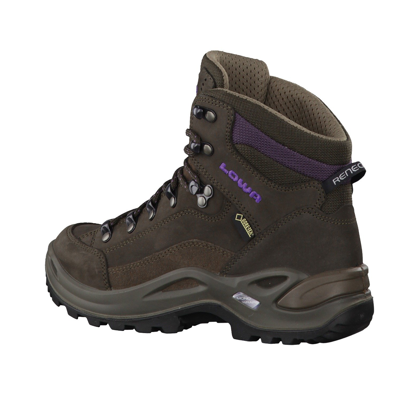 Lowa Women's Renegade B005N668C0 GTX Mid Hiking Boot B005N668C0 Renegade 9 B(M) US|Schiefer / Aubergine (Slate/Eggplant) 25d43e