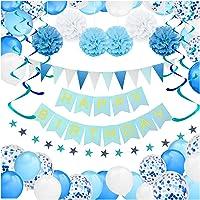 Kit Decoración Fiesta Cumpleaños Niño - Pancarta Happy