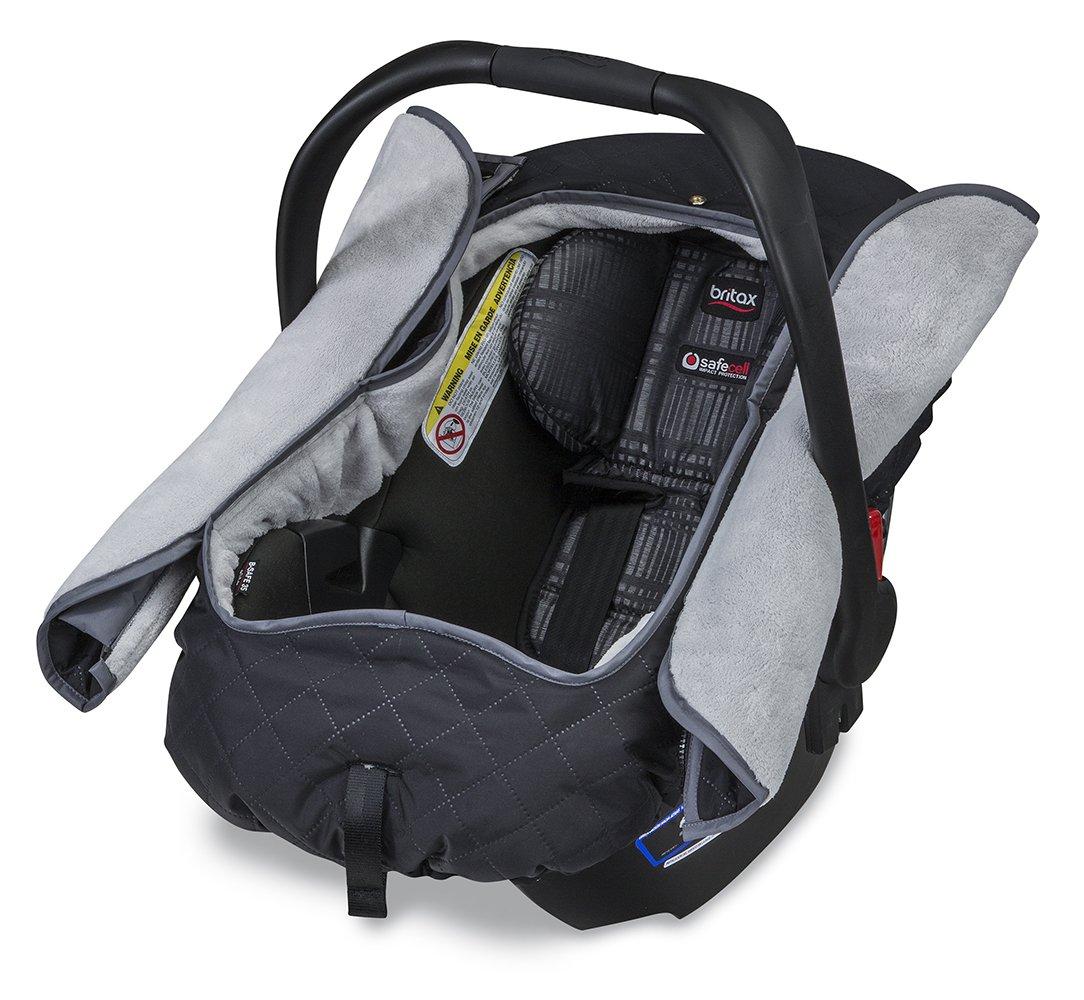 britax b warm insulated infant car seat cover polar mist amazon. Black Bedroom Furniture Sets. Home Design Ideas