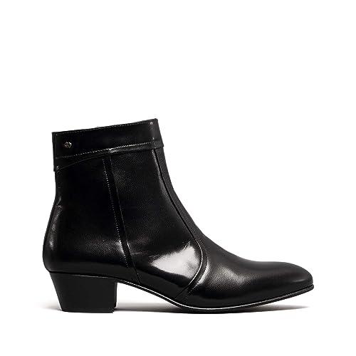 Club Cubano - Botines Chelsea Hombre, Color Negro, Talla 38 EU: Amazon.es: Zapatos y complementos