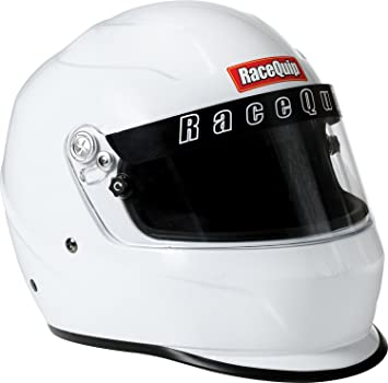 Snell SA-2015 Rated RaceQuip 273660 Gloss Steel XX-Small PRO15 Full Face Helmet
