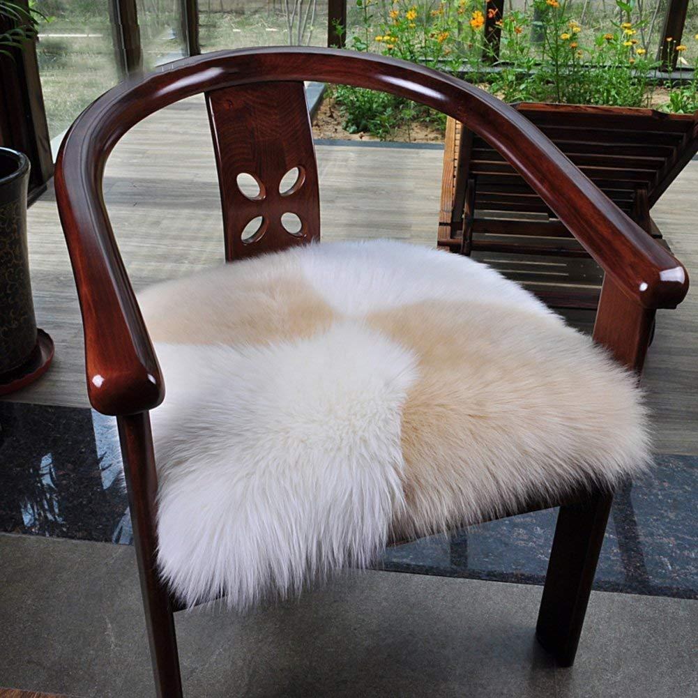 Juオーストラリアのウールパンクッション暖かい冬のソファの純粋なウールのカーペットのソフトクッションクッションオフィスチェア - I 60X60Cm(24X24Cm) (色 : -, サイズ : -)   B07SWWRG81